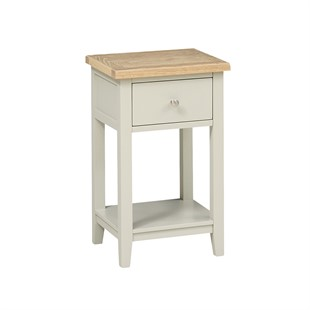Chester Stone 1 Drawer Bedside