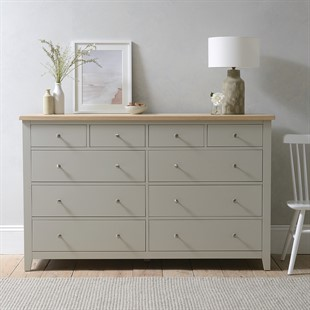 Chester Stone NEW 10 Drawer Chest