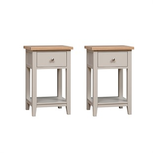 Chester Stone Set of 2 Nightstands