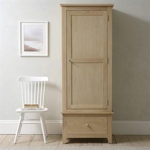 Chester Oak NEW Single Wardrobe