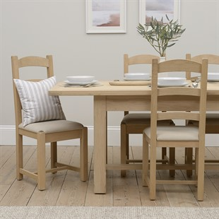 Chester Oak NEW 180-220-260cm Ext. Dining Table