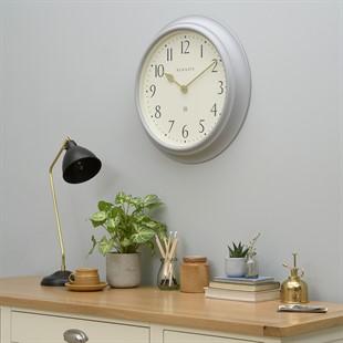 Westhampton Newgate Large Classic Grey Wall Clock (50cm)