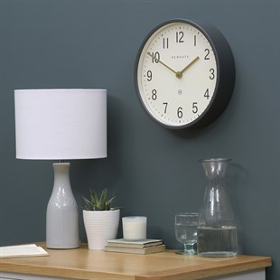 Master Edwards Dark Grey Clock