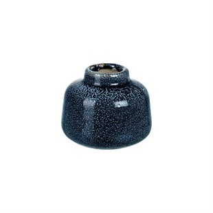 Moondust Black/Blue Small Vase