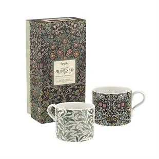 Mugs S/2 - Willow Bough and Blackthorn