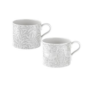 Pure Morris Willow Bough and S. Thief set of 2 mugs