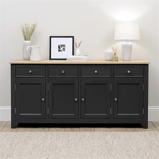 Ellwood Charcoal NEW Extra Large Sideboard