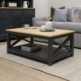 Ellwood Charcoal NEW Coffee Table
