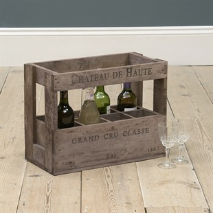 Rustic Wine Crate for 8 Bottles