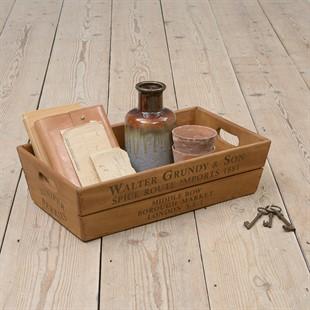 Vintage Flower Box