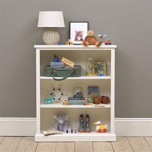 Littleton Warm White Small Bookcase