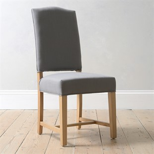 Allium Upholstered Dining Chair - Grey