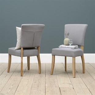 Bluebell Chair - Grey Linen