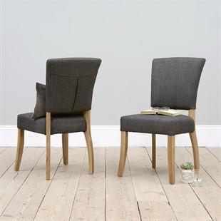 Bluebell Chair - Charcoal Linen