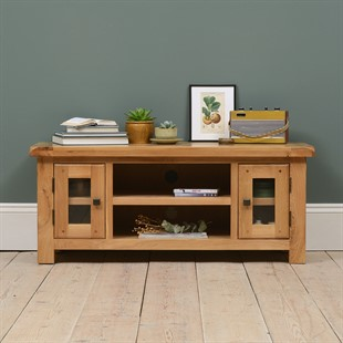 Chester Grey Tv Unit Up To 45 Quot The Cotswold Company