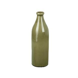 Harpley 34cm Ceramic Vase - Grey