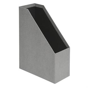 Canvas Magazine File - Grey