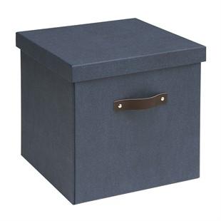 Canvas Storage Box - Blue
