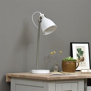 Blake Task Lamp - White