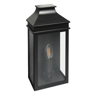 Saxby Single Light Coach Lantern Charcoal