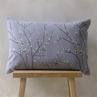 Boughs Cushion - Sky Blue