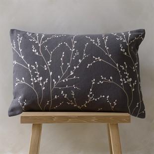 Boughs Cushion - Dark Grey
