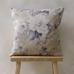 New England Floral Cushion – Wedgwood 50x50cm