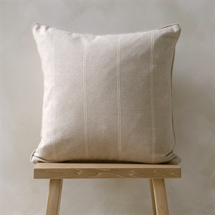 Galway Stripe Cushion Natural 50x50cm