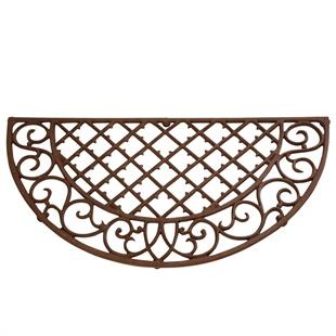 Demi Lune Cast Iron Doormat
