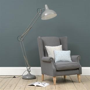 Large Task Floor Lamp - Grey