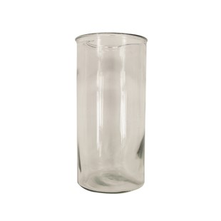 Clear Straight Vase