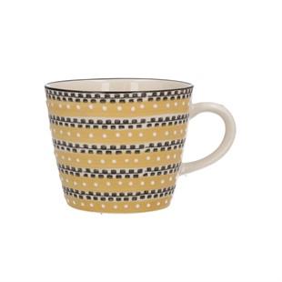 Mustard Track Ceramic Mug