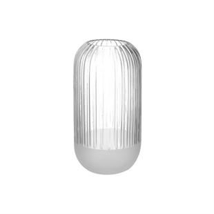 Cosima Vase Clear Frost 25cm