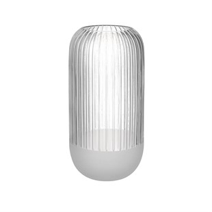 Cosima Vase Clear Frost 30cm