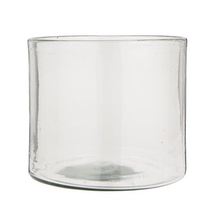 Hurricane Thick Handblown Glass 20.5cm