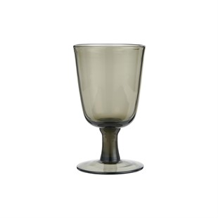 White Wine Glass Smoke