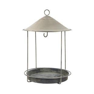 Metal Bird Feeder Round
