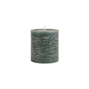 Rustic Candle Moss Green
