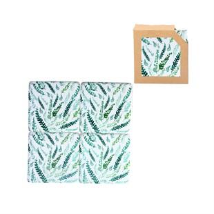 Ferns Resin Coaster 4 Pack
