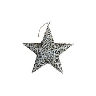 Willow Star Antique Wash 40cm