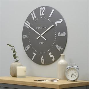 Mulberry Clock - Graphite Silver