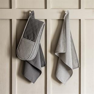 County Ticking Set of 2 Tea Towels