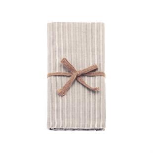 County Ticking napkin set of 4
