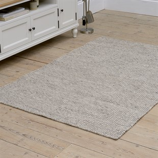 Large Wool Rug - Taupe - 120cm x 180cm