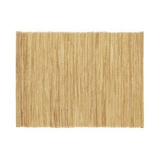 Water hyacinth placemat taupe