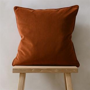 Copper Simple Velvet Cushion 50x50cm