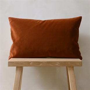 Copper Simple Velvet Cushion 30x50cm