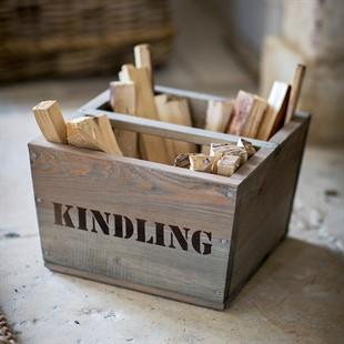 Rustic Kindling Box