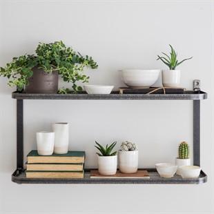 Meera double wall shelf