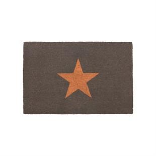 Star Doormat Charcoal - Large
